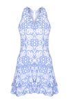 Scallop İşlemeli Mini Elbise 868167078963