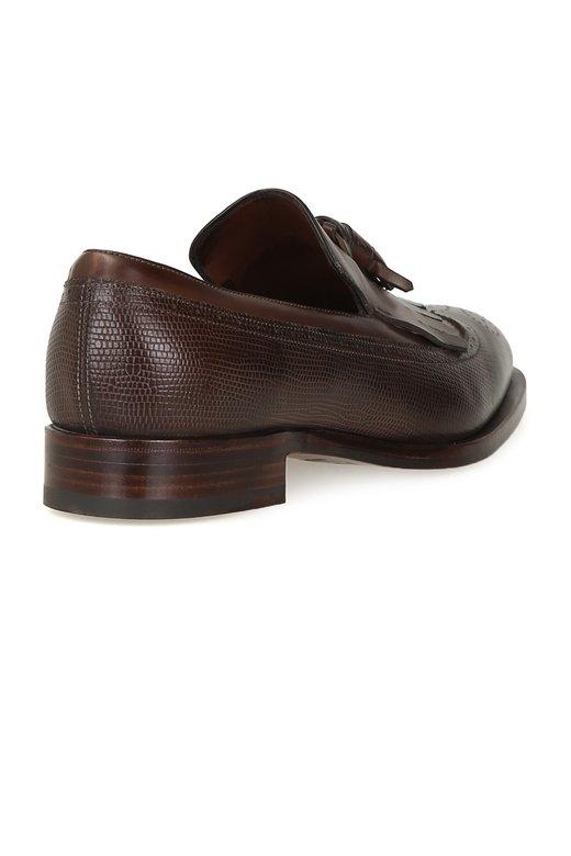 Fratelli rossetti fringed brown classic loafers vakko for Rossetti vernici e idee