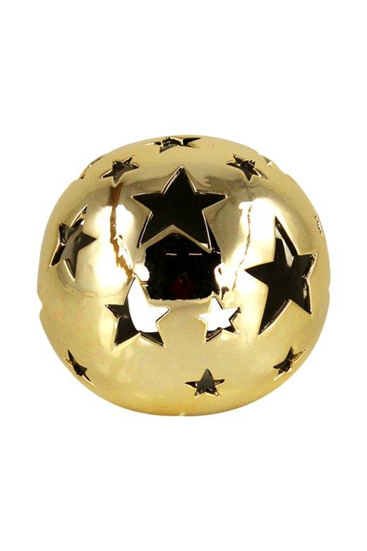 Porselen Yıldızlı Top Obje 868188220718