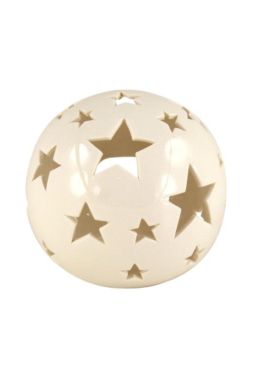 Porselen Yıldızlı Top Obje 868188220717