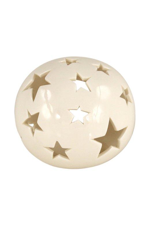Porselen Yıldızlı Top Obje 868188220715