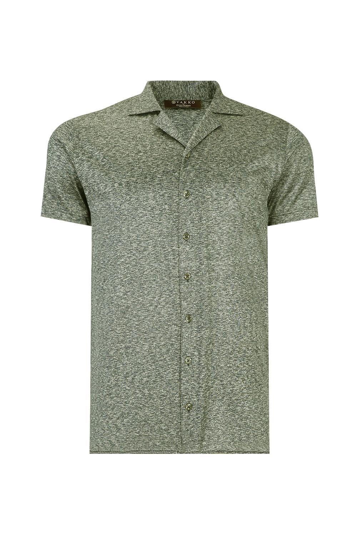 Vakko Yesil Ipek Gomlek T Shirt Vakko